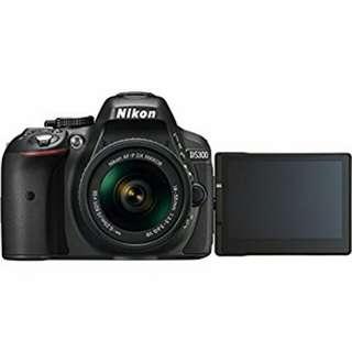 Nikon D5300 KIT AFP 18-55mm bisa Cash/Kredit proses cepat
