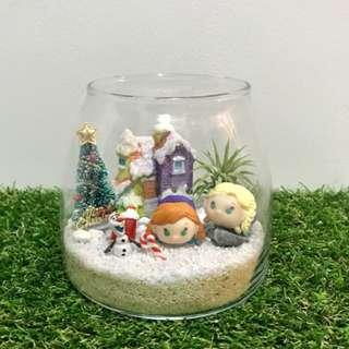 Disney Frozen Elsa & Anna with Olaf Christmas Air Plant