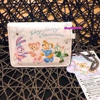 東京迪士尼最新冬季系列Duffy & Friends卡片套