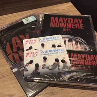 Mayday Concert DVD and Limited Edition Ezlink