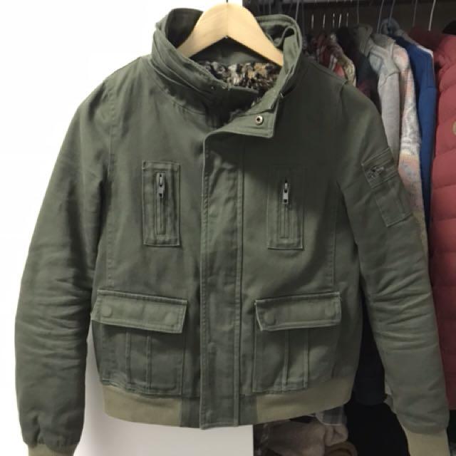 日牌2%夾克軍綠外套