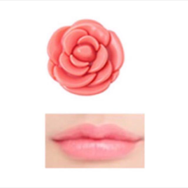 3CE玫瑰潤唇膏