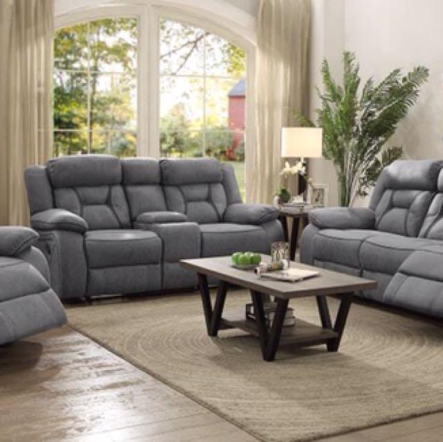 Motion Reclining Sofa Set