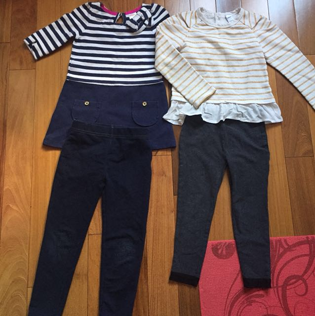 4 pc Girl's Outfit Gymboree Joe Fresh Old Navy Size 4-5