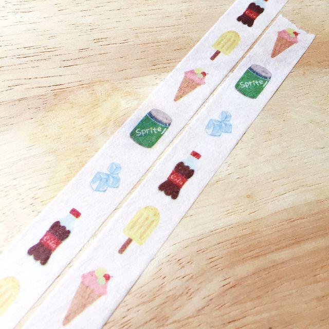 [和紙膠帶分裝]夏祭系列和紙膠帶-夏日印象