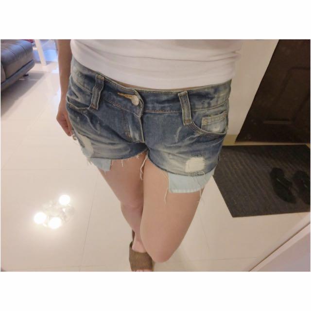 ✨牛仔短褲