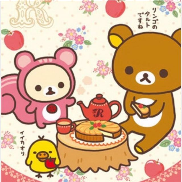 日本進口正版拉拉熊拼圖