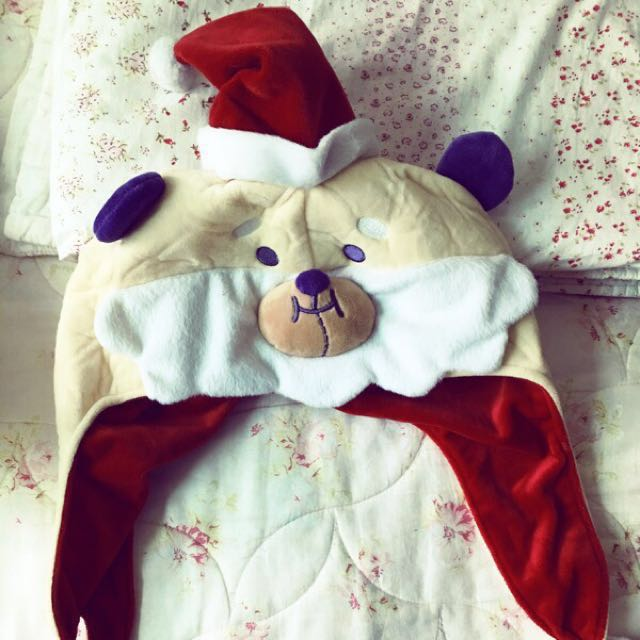 新北歡樂耶誕城桑塔熊🐻帽帽