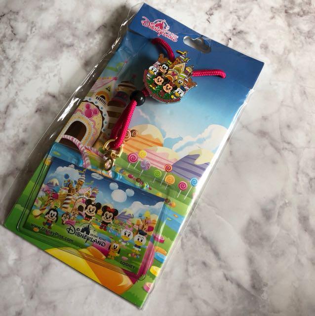 香港迪士尼 證件掛繩