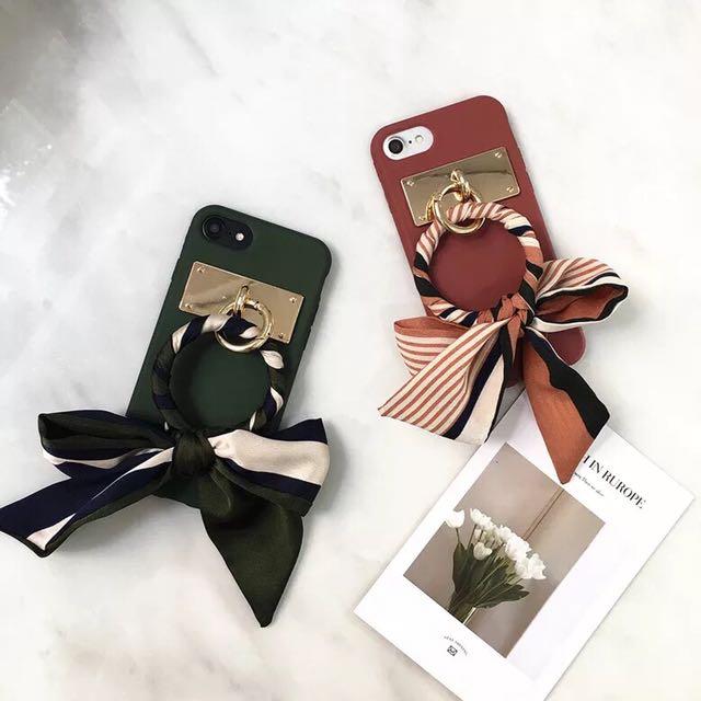 ✨ ░ LIZDASHOP / 韓國時尚復古蘋果全包軟殼女款矽膠套手機殼