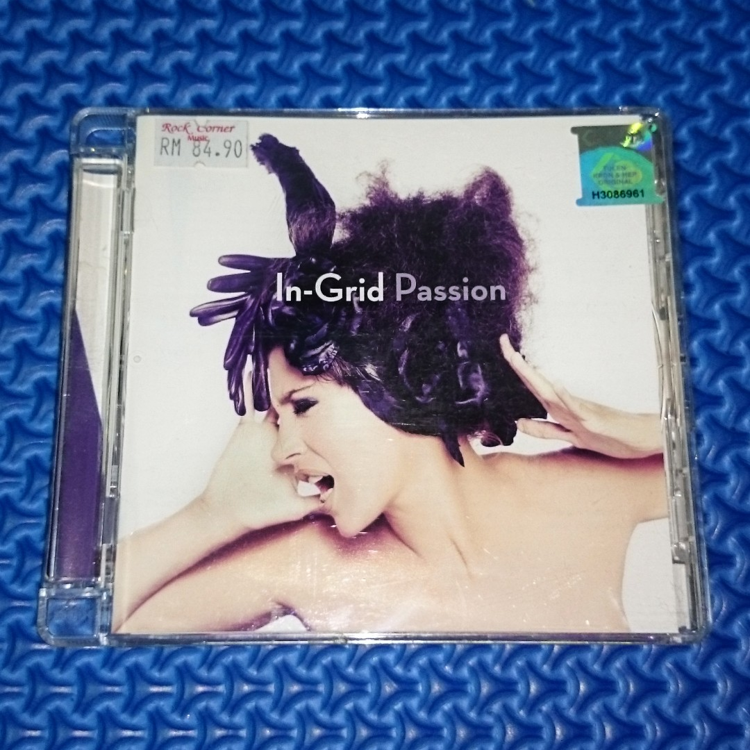 🆒 In-Grid - Passion [2010] Audio CD