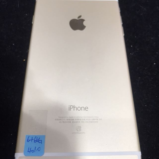 中古 IPhone 6 Plus 64G 金色