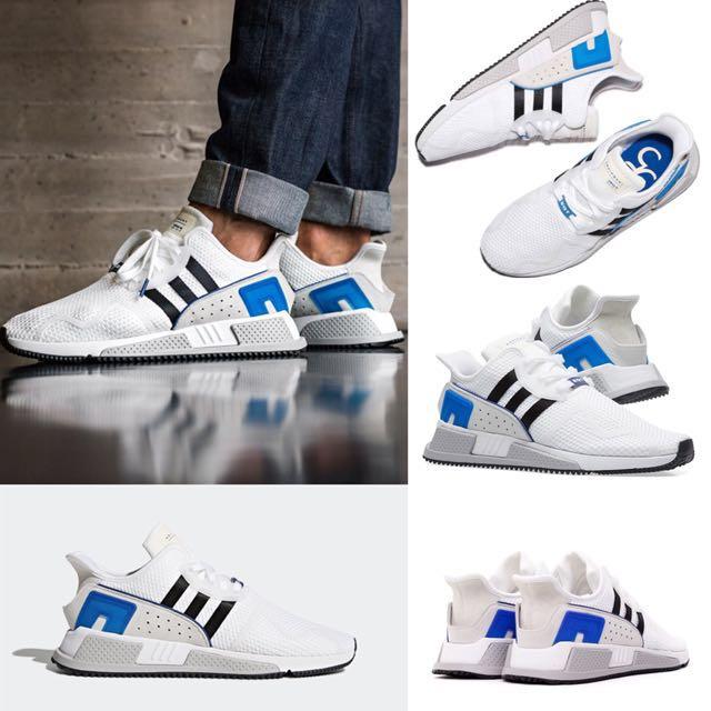 Adidas Equipment Cushion ADV EQT 白黑藍 余文樂 六叔