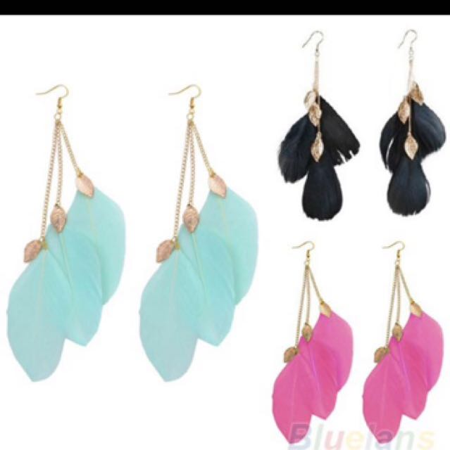 Anting bulu