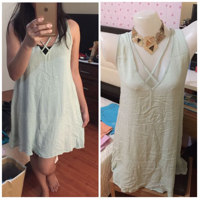 Authentic Forever21 flowy dress