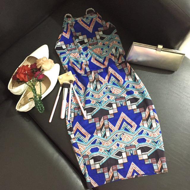 Aztec dress *sexy back*