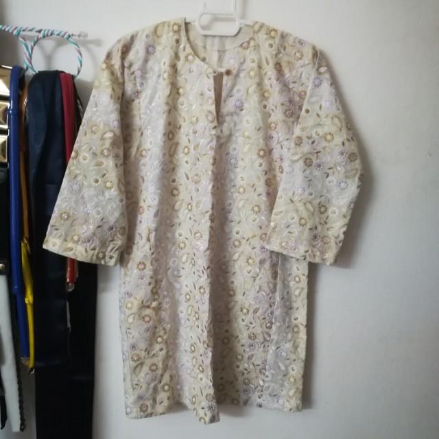 Embroidery Baju Kurung