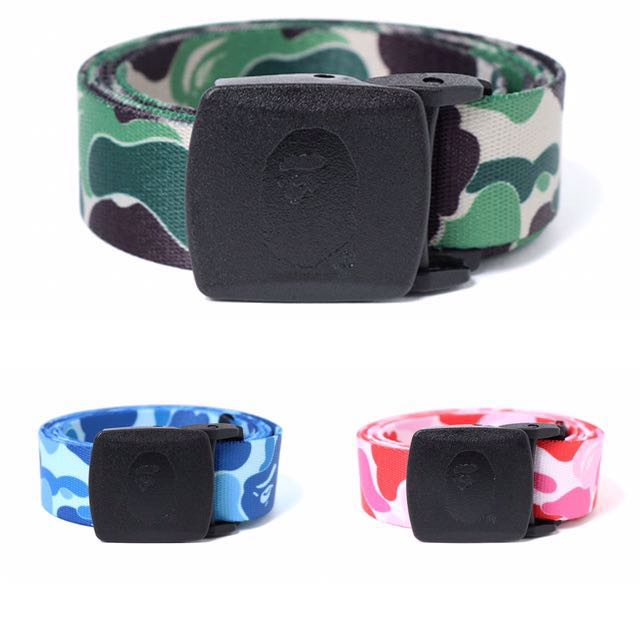 a08180f7086c BAPE ABC CAMO LONG GI BELT