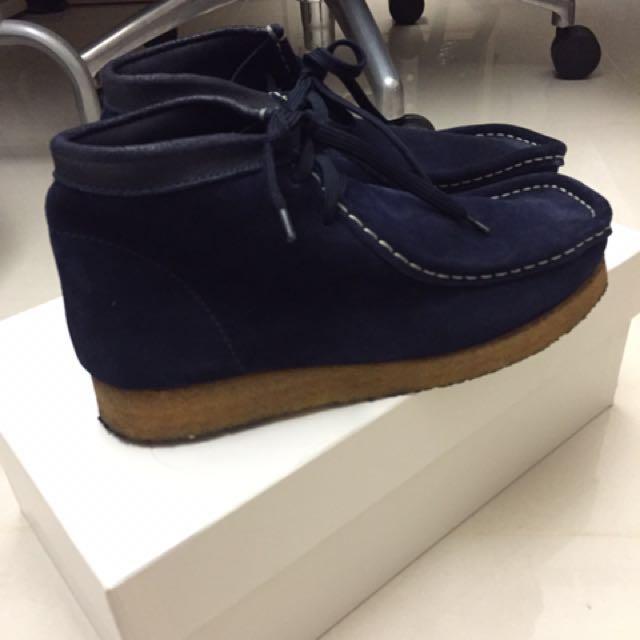 BEAMS 義大利製 袋鼠鞋 麂皮