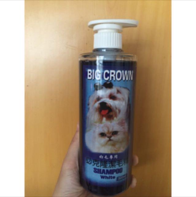 BIG CROWM 必克隆潔毛精 白毛專用 貓/狗犬