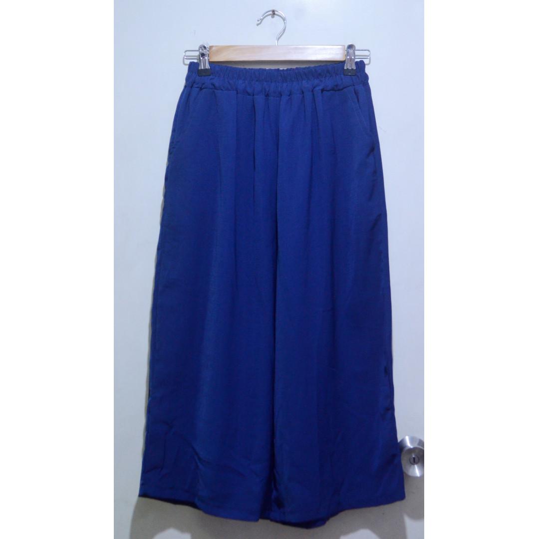 Blue Square Pants | Culottes