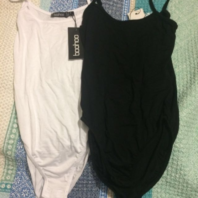Boohoo Basic Bodysuits