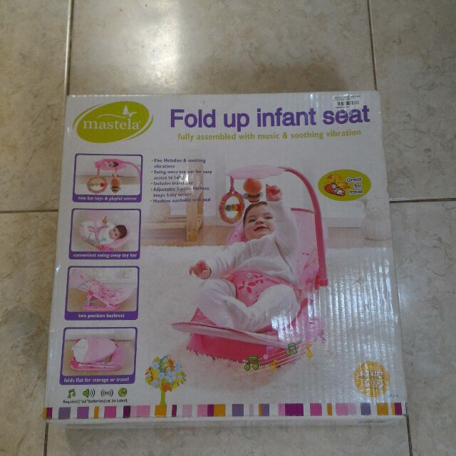 Bouncer mastela fold up infant seat