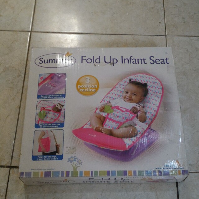 Bouncer summer fold up infant seat