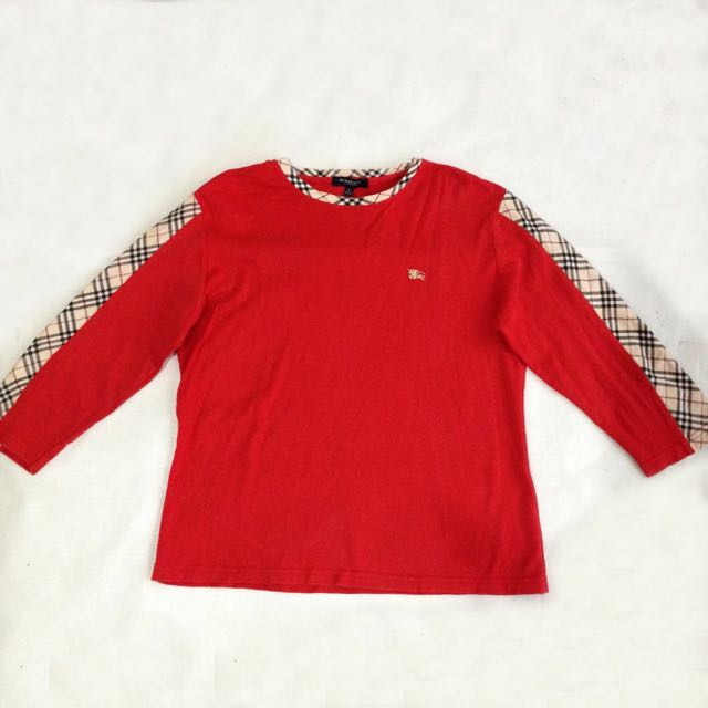 BURBERRY LONDON Longsleeve Top For Kids Girls