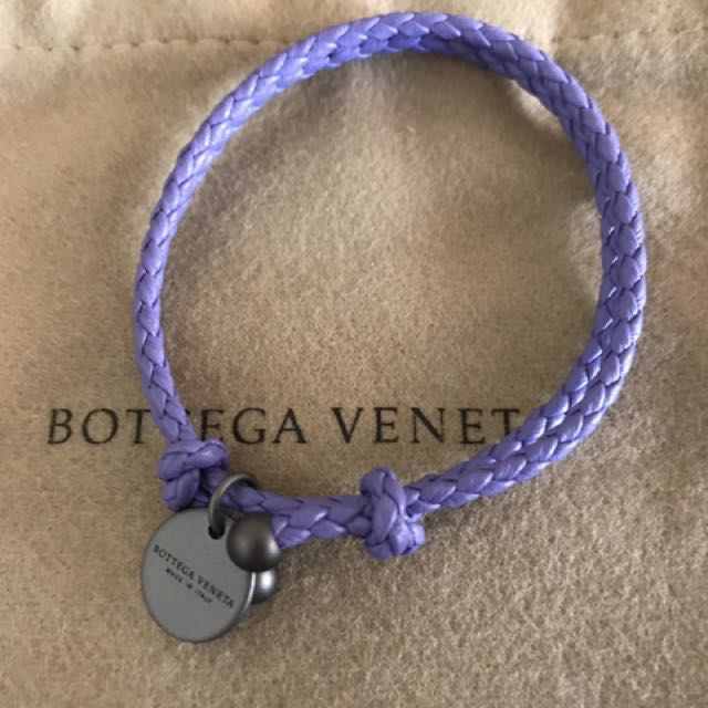 ✭小泡阿木✭正品BV雙圈編織手環 紫色