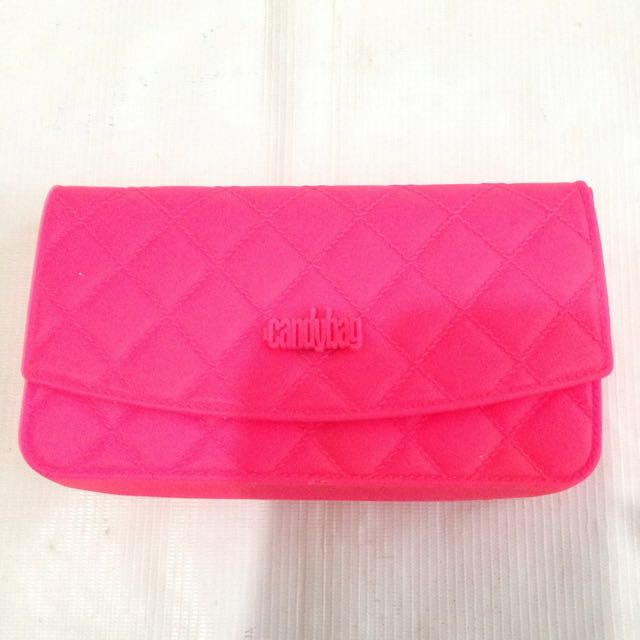 CANDYBAG Hot Pink Kids Bag Clutch