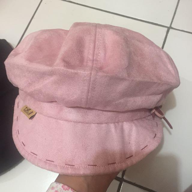 Cap / topi pink