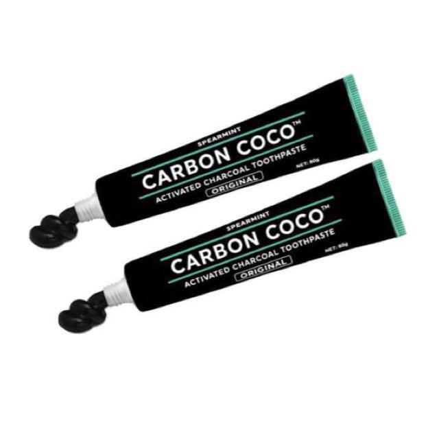 Carbon Coco活性碳美白牙膏