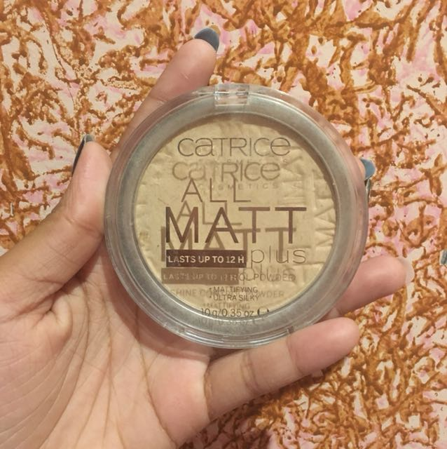 Catrice All matte powder