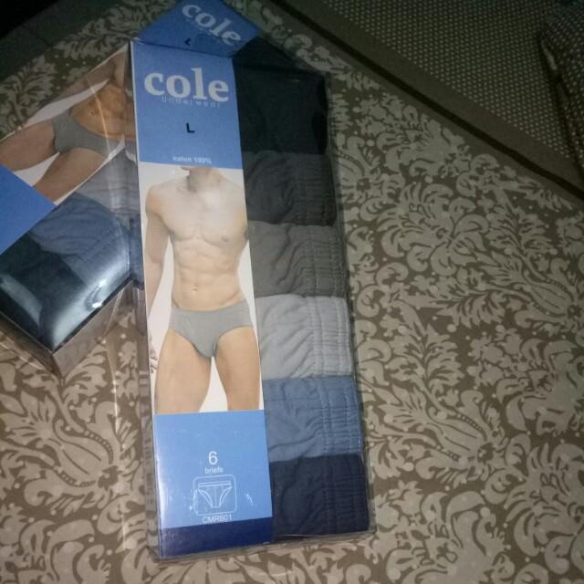 Celana dalam pria Cole
