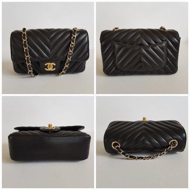 Chanel lambskin rectangular mini