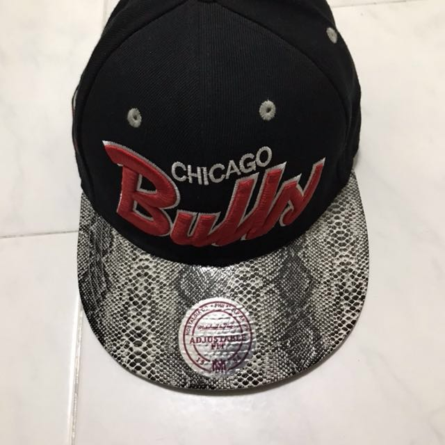 c6407d9f0a5 Chicago bulls Leather Snapback