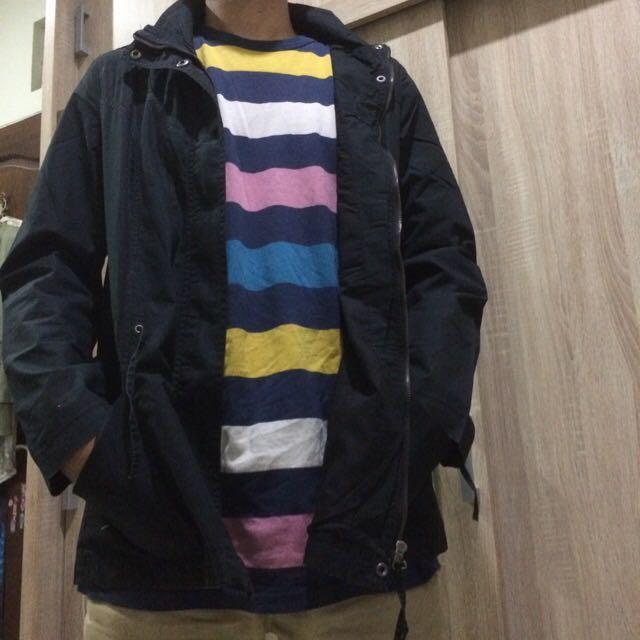 Coat cotton Zara Basic