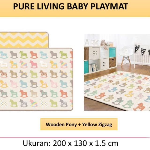 Coby Hous Pure Living Baby Playmat (karpet bayi)