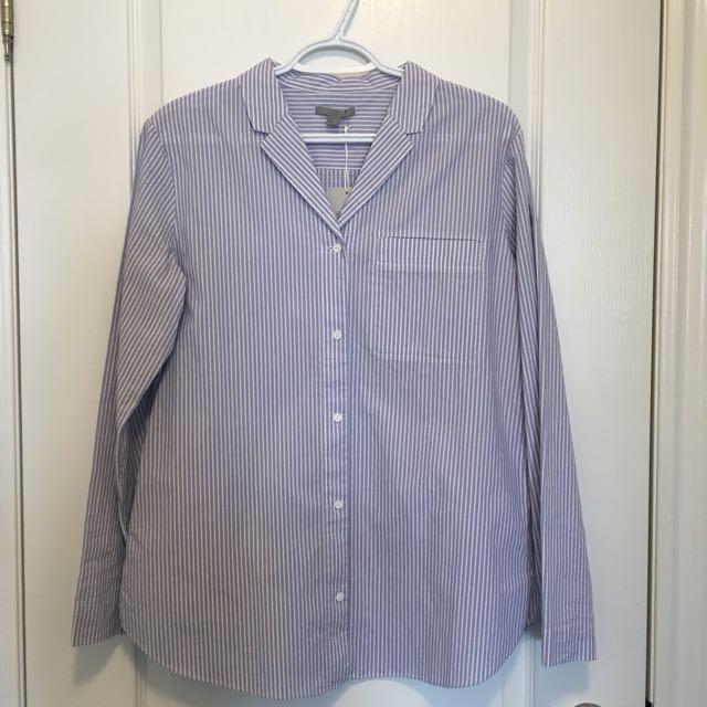 COS Long Striped Dress Shirt- Small