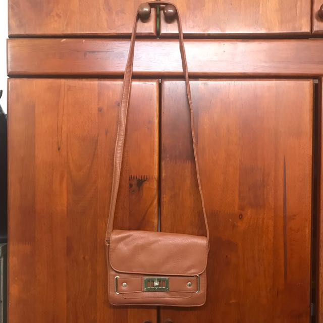 Cotton On Leather Sling Bag