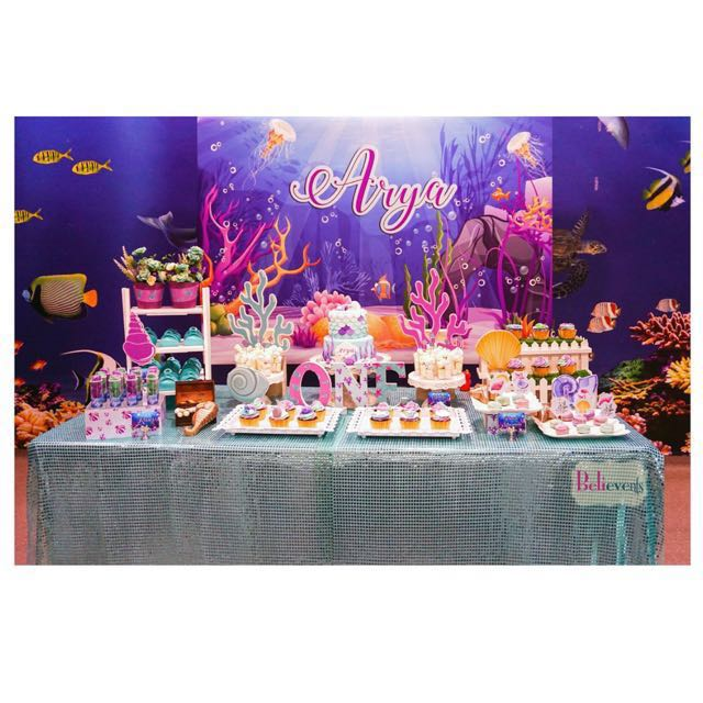 Creative Dessert Table & Party Backdrop