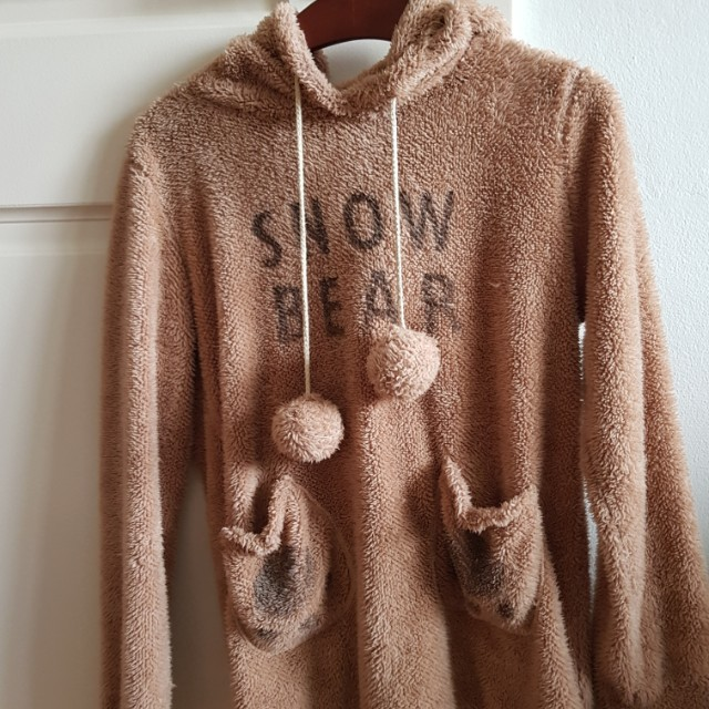 Cute fluffy bear jumper/sweater