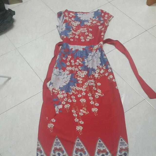 Dorothy perkins floral motif Long Dress