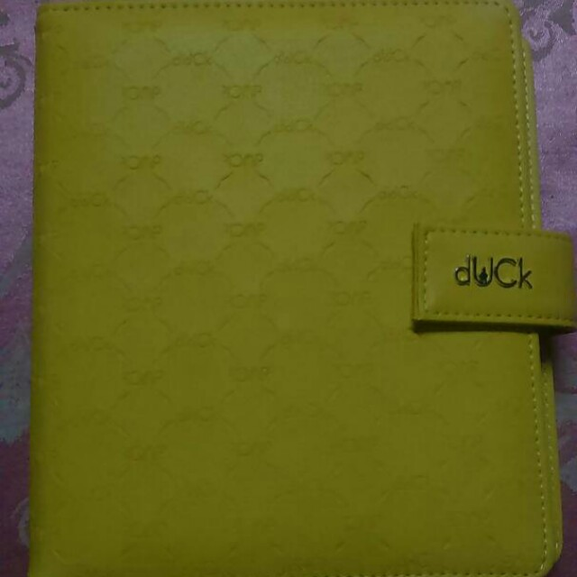 Duck 2018 Planner in Yellow
