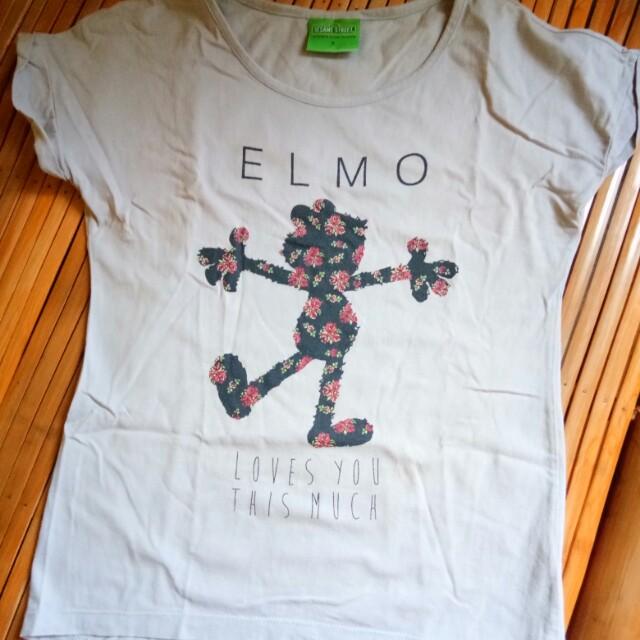 Elmo Gray Shirt