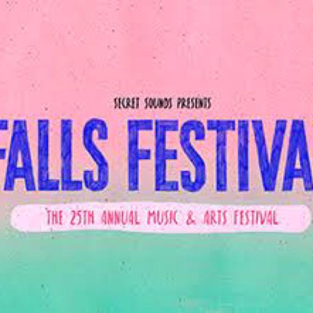 FALLS FESTIVAL CARPASS TICKET $50