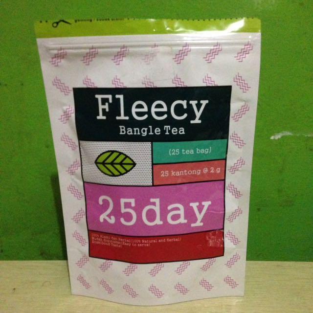Fleecy bangle tea 25day slimming