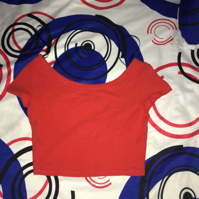 Forever21 Crop top Red