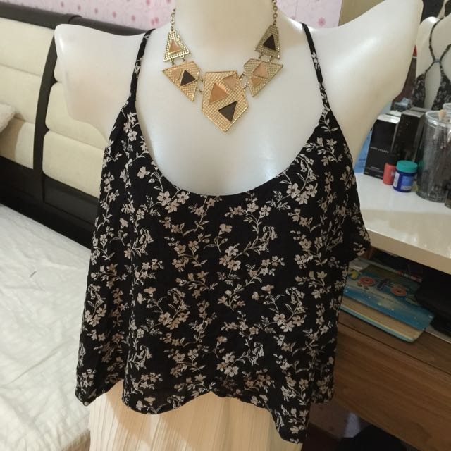 Forever21 woven top cami large